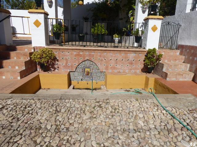 Fuente de la Virgen de las Montañas de Villamartín