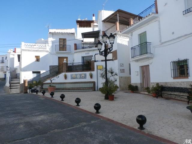 España Square in Algarrobo