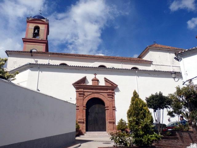 Algatocín - Iglesia Parroquial de Nuestra Señora del Rosario