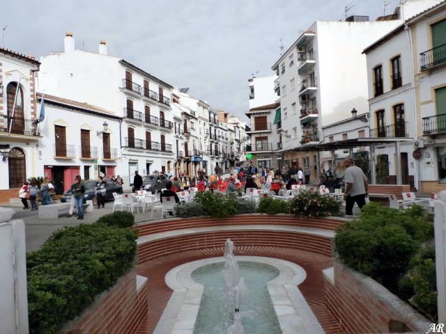 Plaza del Ayuntamiento de Álora