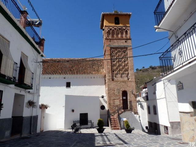 Árchez - Church of Our Lady of the Incarnation - Mudejar Minaret