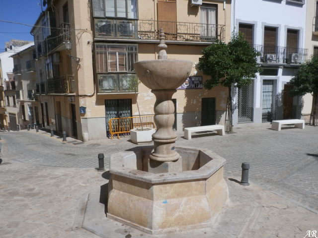 """Fuente de la Plaza San Roque """"Las Pescarías"""" - Archidona"""