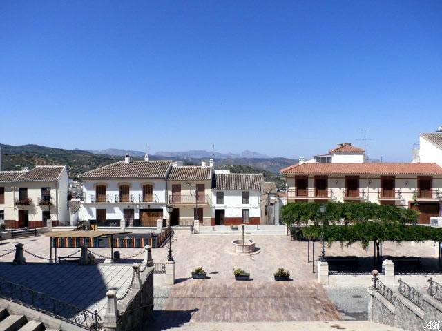 Plaza de la Iglesia de Santa Ana de Archidona