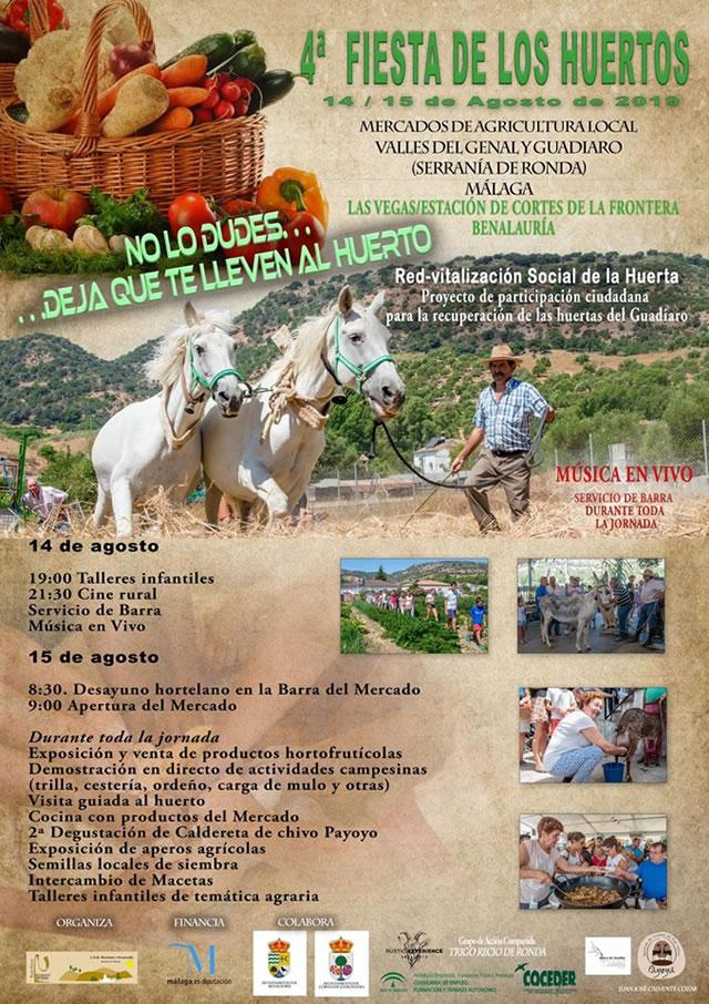 Fiesta de los Huertos - Valle del Guadiaro