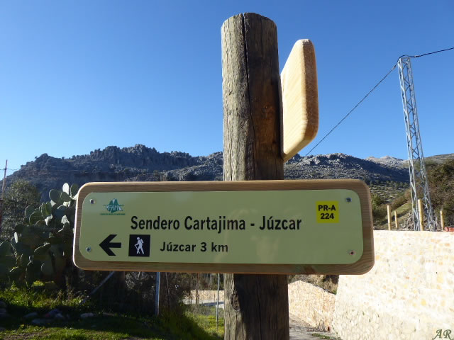 Sendero Cartajima - Júzcar PR-A 224
