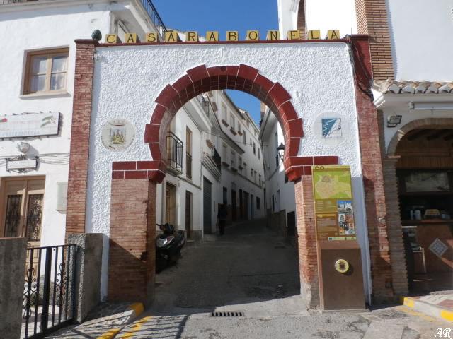 Arco del Cristo de Casarabonela