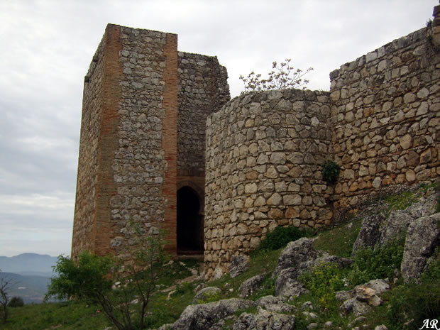 Castillo de archidona fortaleza rabe del siglo ix puerta del sol - Castillo de azay le rideau ...