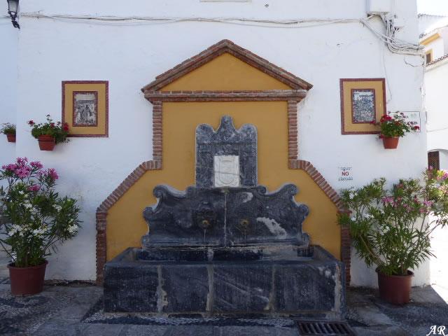 Fuente de la Plaza del Pescao de Coín