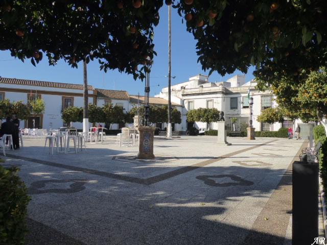 Plaza de Andalucía de Lora del Río