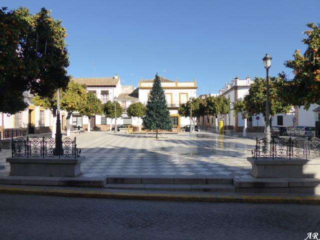 Plaza de España de Lora del Río