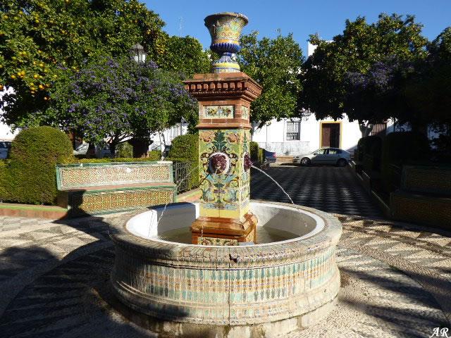 Nuestra Señora de Setefilla Square - Lora del Río