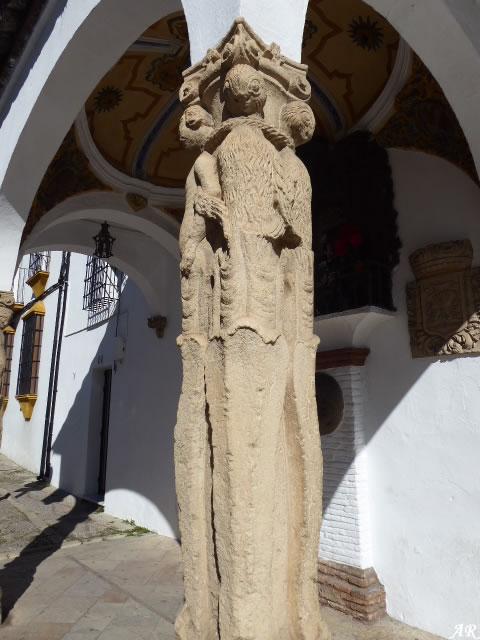 Columnas Jónicas del Templete de los Ahorcados o de la Virgen de los Dolores