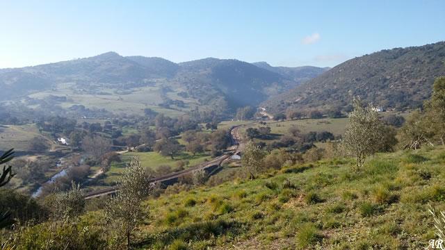 Valle del Guadiaro - Presa de las Buitreras - Puente de las Pepas