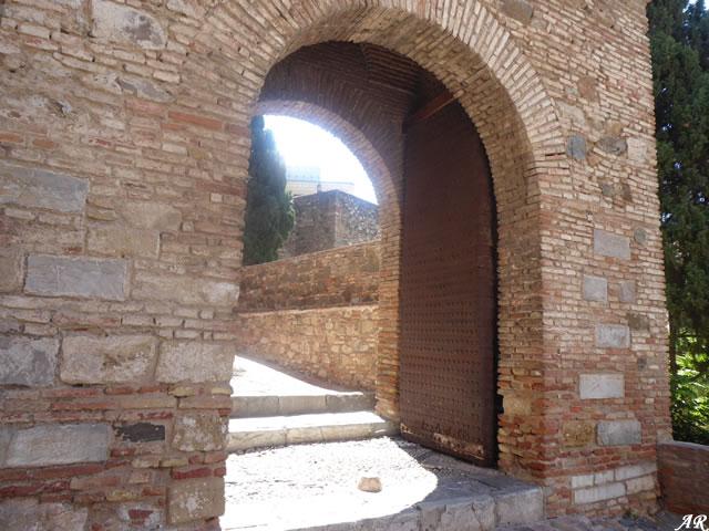 Puerta de acceso a la Alcazaba de Málaga