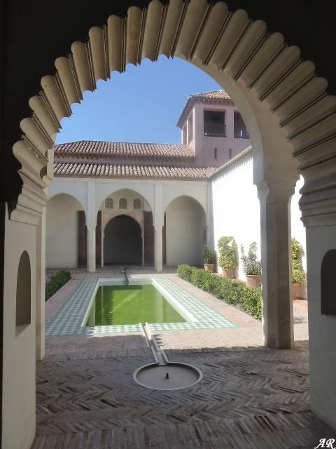 Patio de la Alberca - Alcazaba de Málaga