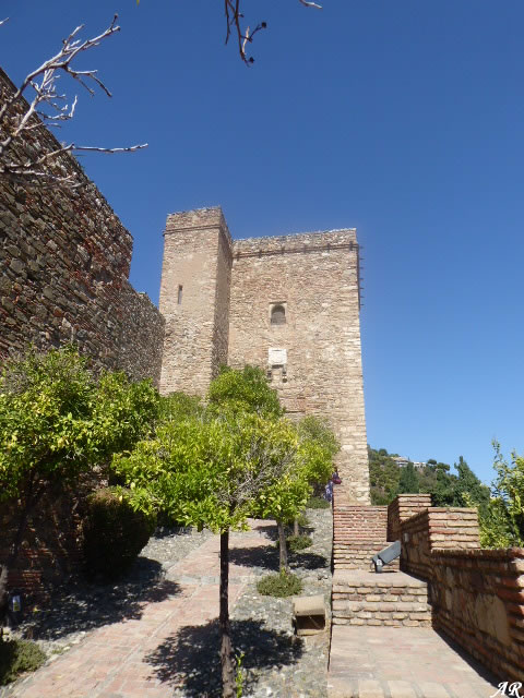 Torre del Cristo de la Alcazaba de Málaga