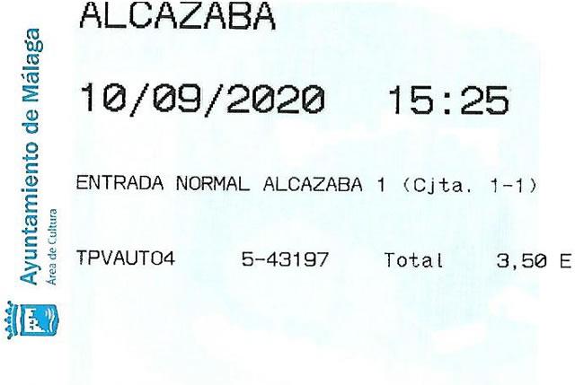Entrada a la Alcazaba de Málaga