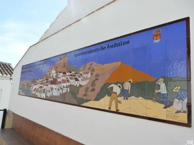 Plaza de la Muralla de Ardales