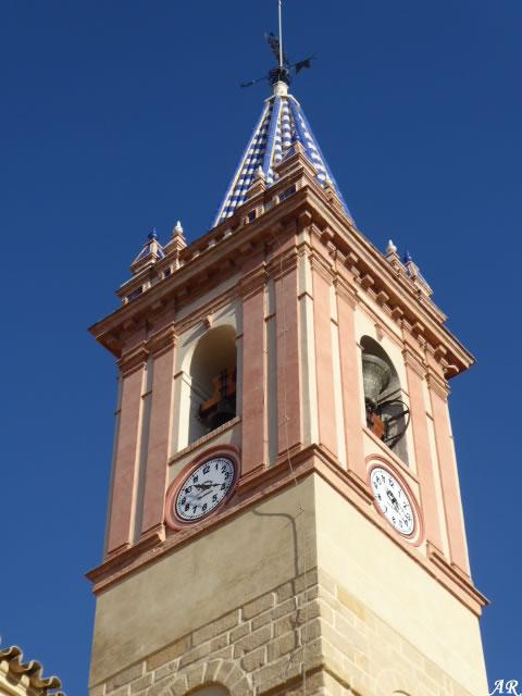 Iglesia Santa María del Reposo - Torre Campanario