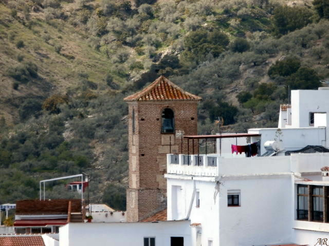 Canillas de Albaida - Canillas de Albaida - Ntra. Sra. de la Expectación Parish Church Bell Tower