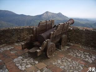 Castillo del Águila - Cañón