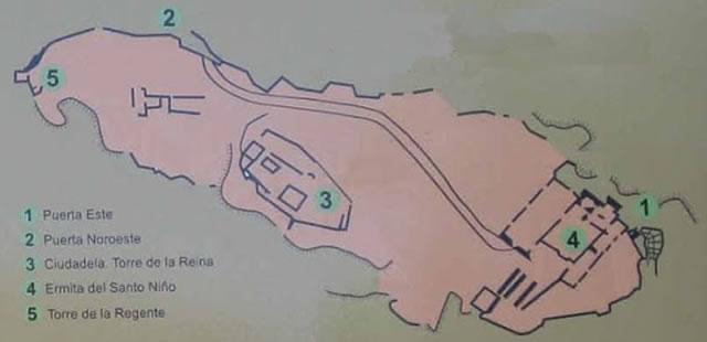Castillo del Águila - Fortaleza - Ciudadela de Gaucín