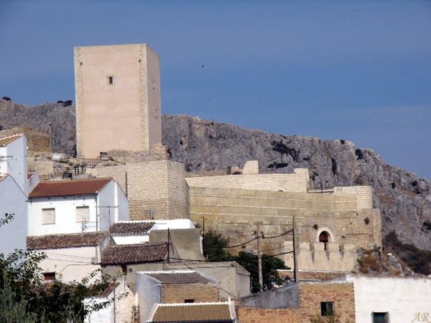 Comarca del Guadalteba - Castillo Hins Qannit de Cañete la Real