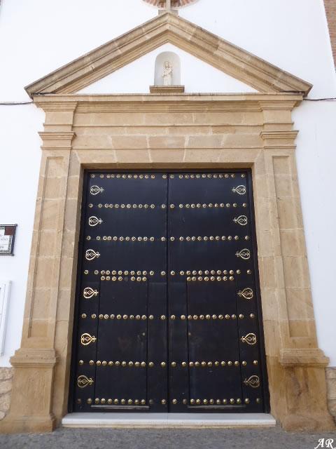 Portada de la Iglesia del Santísimo Cristo de la Misericordia - Humilladero - Málaga
