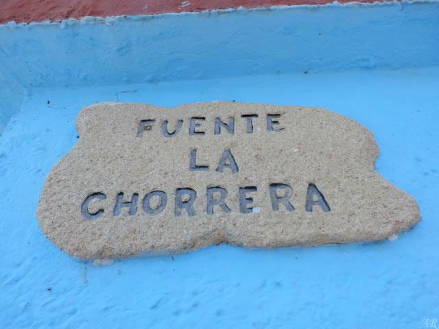 Fuente La Chorrera - Júzcar
