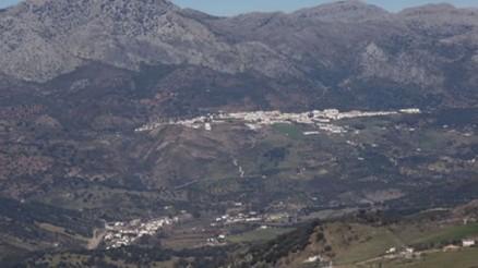 La Cañada del Real Tesoro y Cortes de la Frontera vistos desde el Mirador de África 5/2/2012