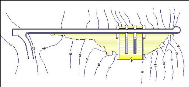 Almodovar Dam & Reservoir in Tarifa