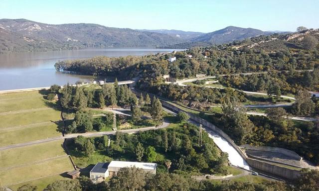 Panorámica de la Presa y Embalse de Guadarranque