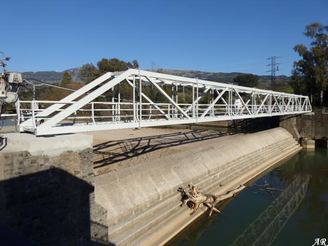Puente Nuevo del Azud de las Buitreras