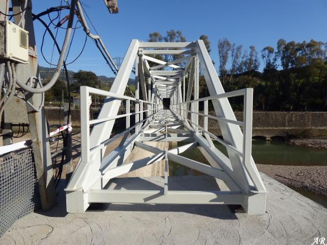 Puente Nuevo de la Presa de las Buitreras