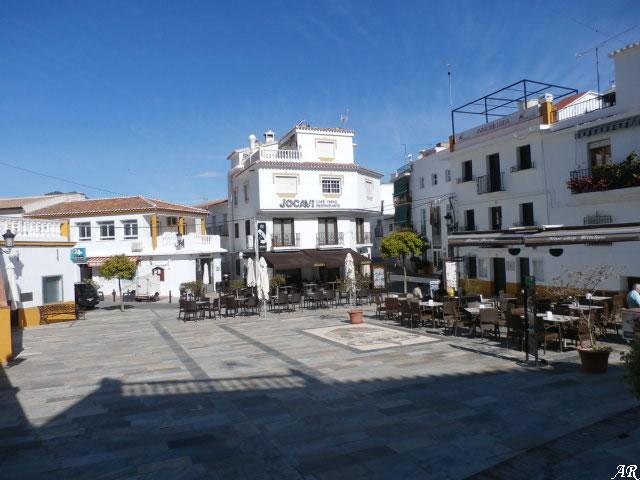 Don Rafael Alcoba Square - Sayalonga