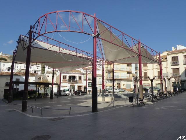 Plaza de la Constitución de Teba