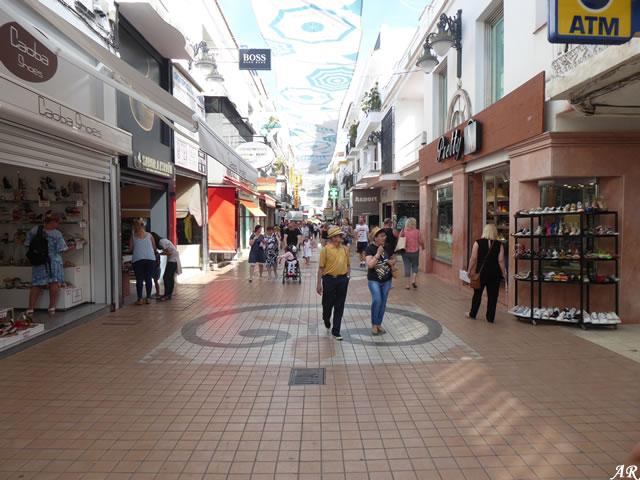 Calle San Miguel de Torremolinos