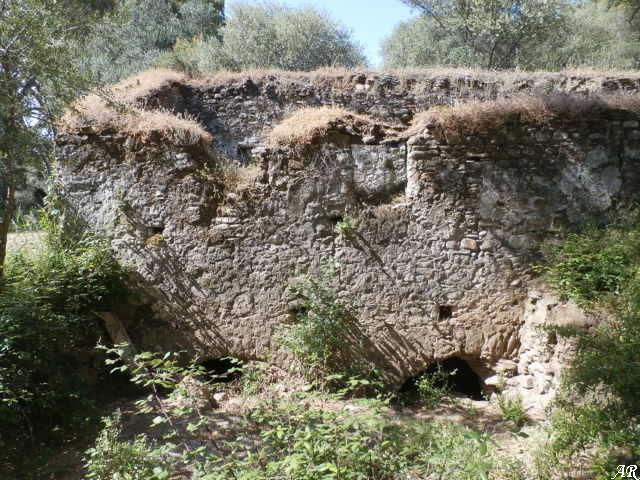 Molino de las Peñas - Río Hozgarganta - Parque Natural de los Alcornocales