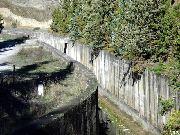 Alhama Dam and Reservoir - Alhama de Granada