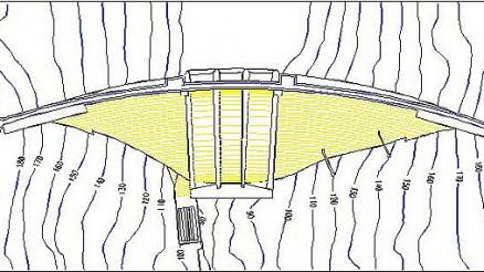 Presa de Bembézar - Embalse del Bembézar - Pantano de Bembézar