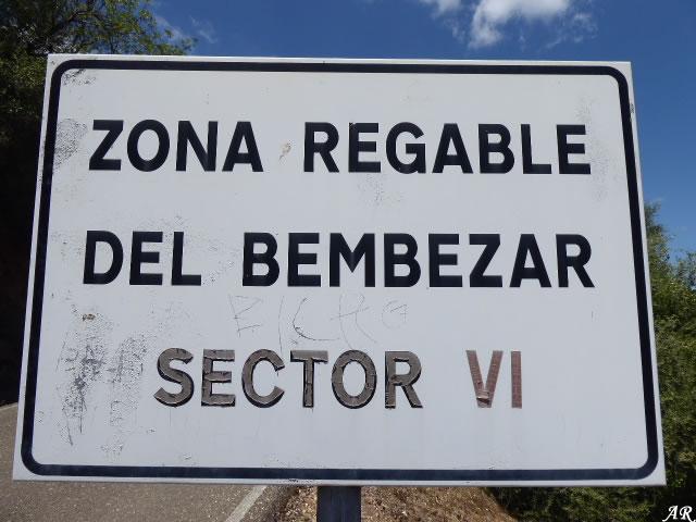 Presa de Derivación del Retortillo, zona regable del Bembezar Sector VI