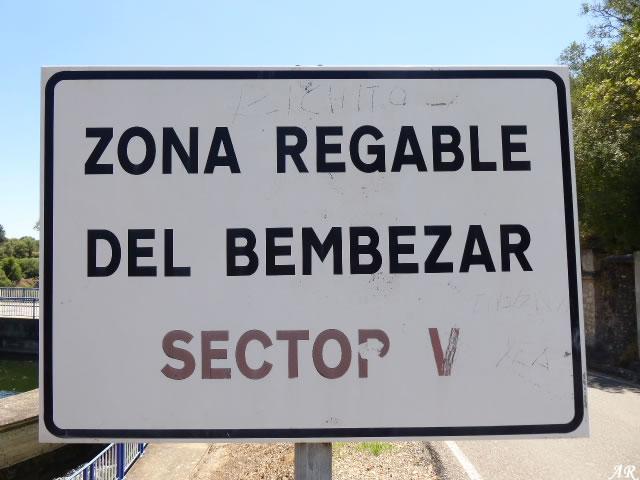 Presa de Derivación del Retortillo zona regable del Bembezar Sector V
