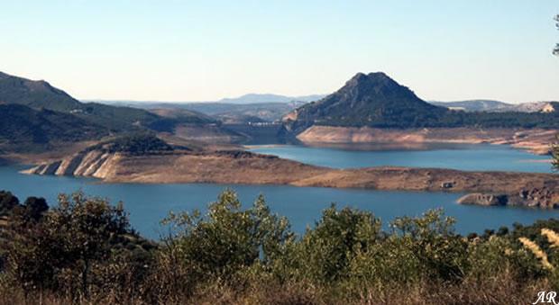 Iznajar Dam and Reservoir