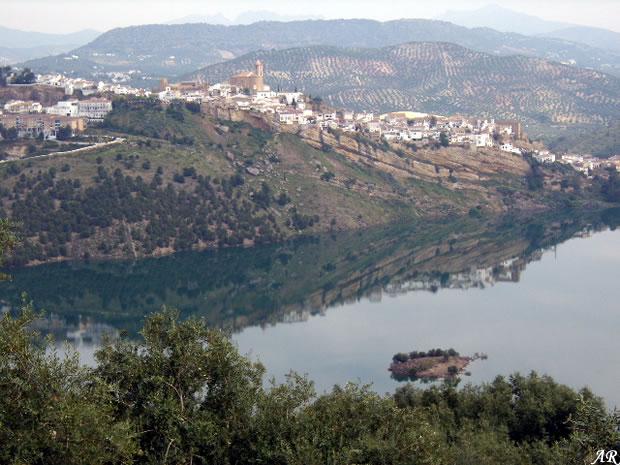 Iznajar Dam Panoramic
