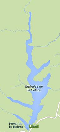 Presa de la Bolera - Embalse de la Bolera - Pantano de la Bolera - Pozo Alcón - Jaén