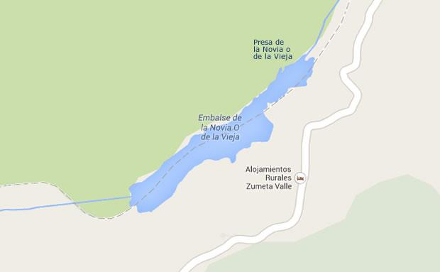 Presa de la Vieja o la Novia - Embalse de la Vieja o la Novia - Pantano - Santiago Pontones