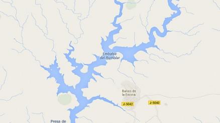 Presa de Rumblar - Embalse del Rumblar - Pantano del Rumblar - Baños de la Encina - Jaén