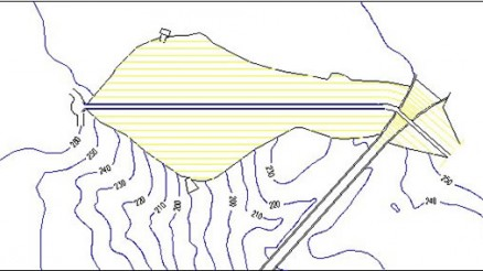 Presa de Zufre - Embalse de Zufre - Pantano de Zufre - Zufre Dam & Reservoir