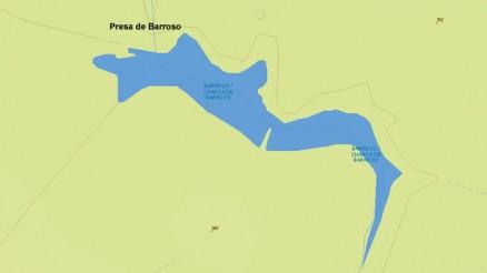 Presa del Embalse de Barroso - Charca de Barroso - Dam and Reservoir