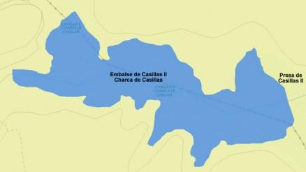 Presa del Embalse de Casillas II - Charca de Casillas - Dam & Reservoir